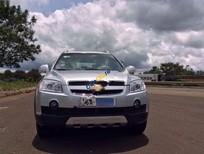 Cần bán lại xe Chevrolet Captiva LT 2.4 MT năm 2007, màu bạc