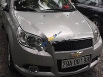 Chính chủ bán Chevrolet Aveo LT 1.5 MT đời 2015, màu bạc