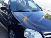 Bán xe Daewoo Lacetti EX đời 2010, màu đen số sàn
