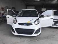 Cần bán Kia Morning Van 1.0AT sản xuất 2013, màu trắng, xe mới 95%, chưa đăng ký