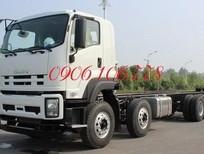 Xe tải Isuzu FV330 4 chân 17.9 tấn Vĩnh Phát lắp ráp 3 cục