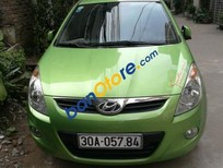 Bán Hyundai i20 AT đời 2012, màu xanh