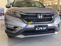 Bán Honda CR V 2.4L đời 2016, màu xám