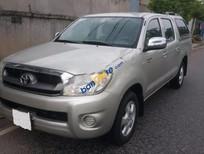 Bán Toyota Hilux 2.5E đời 2010, màu bạc, xe nhập chính chủ