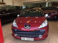 Bán ô tô Peugeot 207 cc 1.6 đời 2008, màu đỏ, nhập khẩu nguyên chiếc như mới