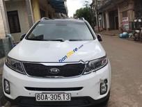 Bán Kia Sorento GATH sản xuất 2016, màu trắng, giá tốt