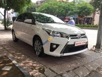 Bán xe Toyota Yaris 1.3E đời 2015, màu trắng, nhập khẩu Thái Lan, 525tr