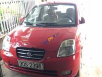 Bán Kia Morning SLX đời 2004, màu đỏ, xe nữ sử dụng, chỉ việc đổ xăng và chạy
