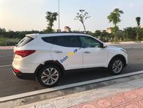 Bán Hyundai Santa Fe CRDI năm sản xuất 2014, màu trắng, nhập khẩu