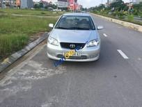 Xe Toyota Vios MT đời 2005, màu bạc xe gia đình, giá 195tr