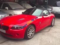Bán BMW Z4 đời 2003, màu đỏ, xe cũ chạy tốt, bảo dưỡng thường xuyên