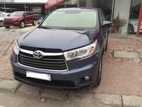 Cần bán Toyota Highlander 2014, màu xanh nhạt, nhập khẩu nguyên chiếc