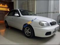 Bán Daewoo Lanos sản xuất 2003, màu trắng, xe nhập xe gia đình, giá 128tr