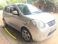 Cần bán lại xe Kia Morning LX sản xuất 2010, màu bạc