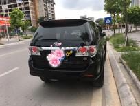 Bán Toyota Fortuner 2.7V đời 2014, màu đen
