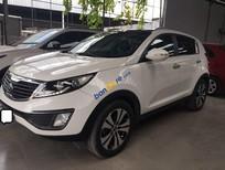 Cần bán lại xe Kia Sportage 2.0AT sản xuất năm 2013, màu trắng, xe nhập, 666tr