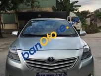 Cần bán lại xe Toyota Vios E năm 2015, màu bạc
