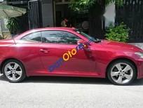 Bán xe Lexus IS 250C đời 2009, màu đỏ, xe nhập
