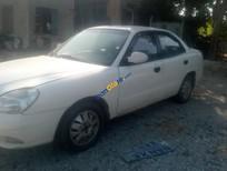 Bán Daewoo Nubira Lx năm sản xuất 2002, màu trắng, nhập khẩu nguyên chiếc, giá 95tr