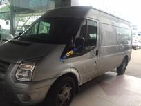 Cần bán xe Ford Transit Van 6 chỗ, màu ghi vàng, máy dầu, số sàn