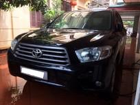 Cần bán Toyota Highlander, nhập khẩu Mỹ, màu đen
