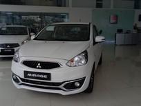 Mitsubishi Mirage mới 2017 rẻ nhất Đà Nẵng, màu trắng, nhập khẩu, giá chỉ 378 triệu