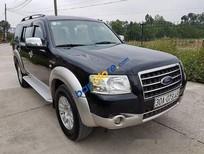 Cần bán gấp Ford Everest 2.5MT sản xuất 2007, màu đen số sàn giá cạnh tranh