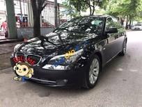 Bán BMW 5 Series 530i đời 2008, màu đen chính chủ, 645tr