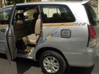 Cần bán lại xe Toyota Innova 2.0MT đời 2008, màu bạc ít sử dụng, 345 triệu