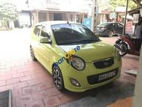 Bán xe Kia Morning AT 2010, màu vàng, xe nhập số tự động, 320 triệu