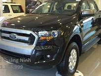 Cần bán xe Ford Ranger XLS 2.2l 4x2 AT sản xuất 2017, màu đen, nhập khẩu
