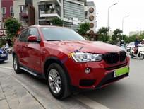 Bán gấp BMW X3 đời 2016, màu đỏ, nhập khẩu nguyên chiếc