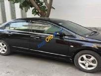Bán xe Honda Civic 1.8 MT đời 2007, màu đen, giá tốt