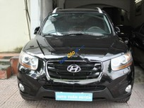 Bán Hyundai Santa Fe SLX năm 2009, màu đen, xe nhập, giá 725tr
