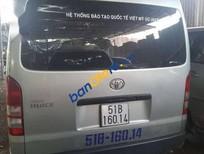 Cần bán xe Toyota Hiace sản xuất 2008, màu bạc giá cạnh tranh