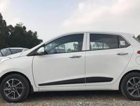 Bán xe Hyundai Grand i10 1.2MT đời 2021, màu trắng, xe giao ngay vay NH 80%