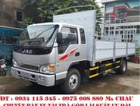 Cần bán JAC HFC 7.25 tấn 2017, màu bạc