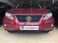 Cần bán Lexus RX 350 sản xuất năm 2010, màu đỏ, nhập khẩu