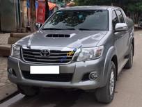 Cần bán lại xe Toyota Hilux 3.0G 4x4 AT đời 2015, màu bạc, nhập khẩu số sàn, giá 590tr