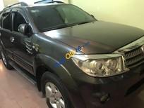 Bán Toyota Fortuner V đời 2009, màu đen số tự động