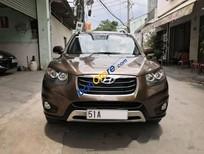 Bán Hyundai Santa Fe CRDi 2012, màu nâu, xe nhập