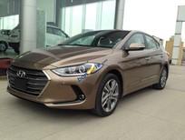 Bán Hyundai Elantra 1.6 năm sản xuất 2017, màu nâu