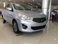 Cần bán Mitsubishi Attrage 2017, màu bạc, nhập khẩu chính hãng giá cạnh tranh, lãi suất thấp