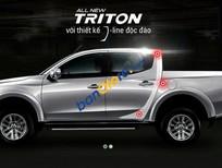 Cần bán xe Mitsubishi Triton GLS năm 2017, màu xám, nhập khẩu nguyên chiếc, giá chỉ 540 triệu