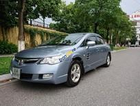 Bán Honda Civic 1.8 AT sản xuất 2008, màu xanh lam