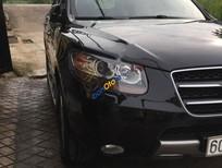 Bán xe Hyundai Santa Fe SLX sản xuất 2009, màu đen, xe nhập