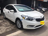 Cần bán xe Kia K3 1.6 MT đời 2016, màu trắng số sàn