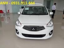 Bán Mitsubishi Attrage MT 2017, màu trắng, nhập khẩu, giá 375 triệu