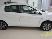 Cần bán Mitsubishi Mirage MT Eco , màu trắng, nhập khẩu chính hãng, giá chỉ 350  triệu