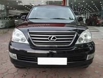 Lexus GX 470 đời 2008, màu đen nội thất kem, xe chính chủ nhập khẩu nguyên chiếc, nội thất còn nguyên mới, đẹp